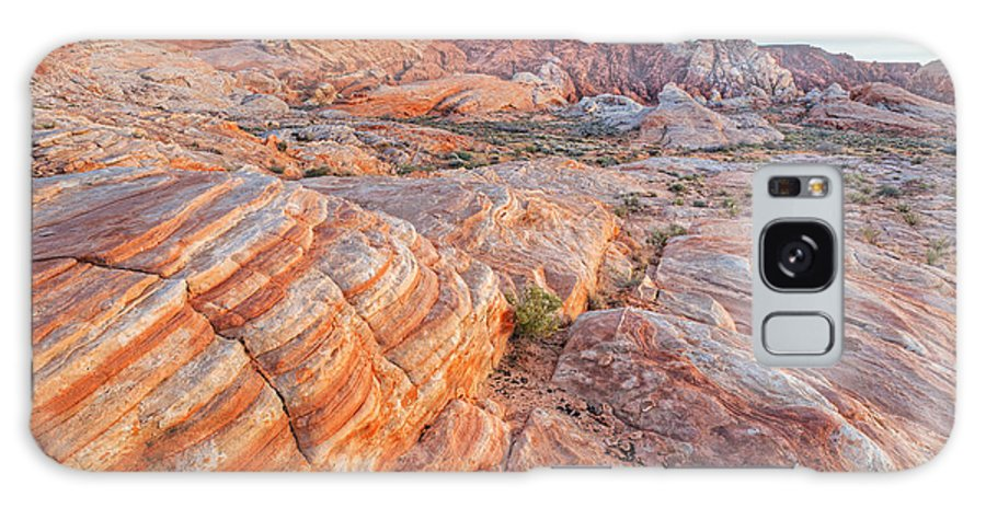 Arid Galaxy S8 Case featuring the photograph Valley Of Fire by Dean Pennala
