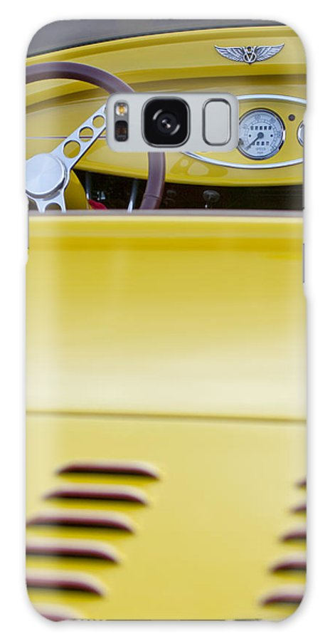 1929 Ford Model A Roadster Galaxy S8 Case featuring the photograph 1929 Ford Model A Roadster by Jill Reger