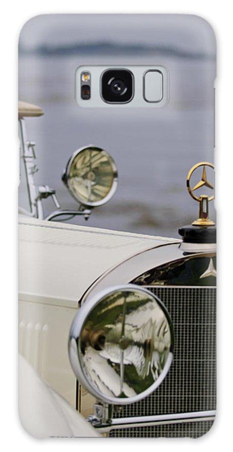 1929 Mercedes-benz S Tourer Galaxy S8 Case featuring the photograph 1929 Mercedes-benz S Tourer Hood Ornament by Jill Reger
