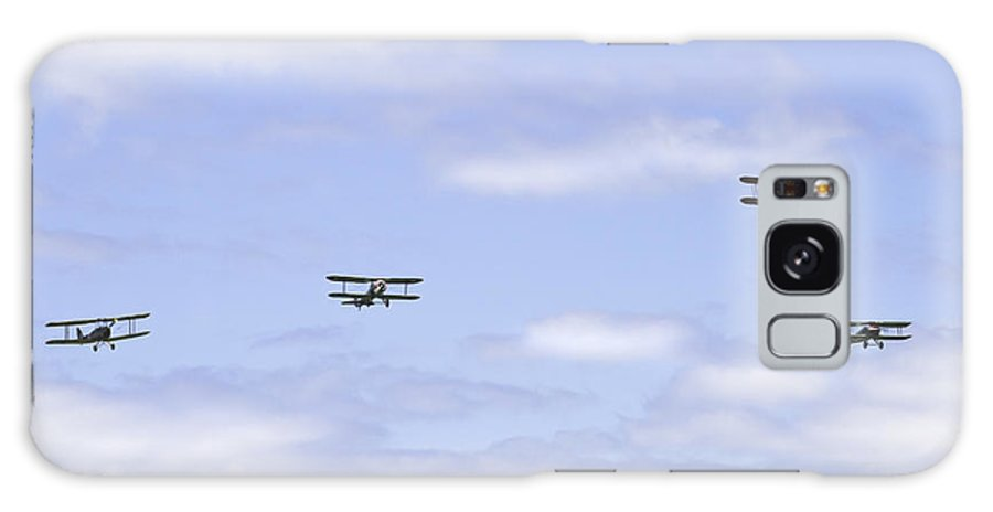 1931 Galaxy S8 Case featuring the photograph 1931 Waco Ubf2 1917 Spad Xiiici1917 Nieuport 28c1 And De Havilland Dh82a Tiger Moth Photo Print by Keith Webber Jr