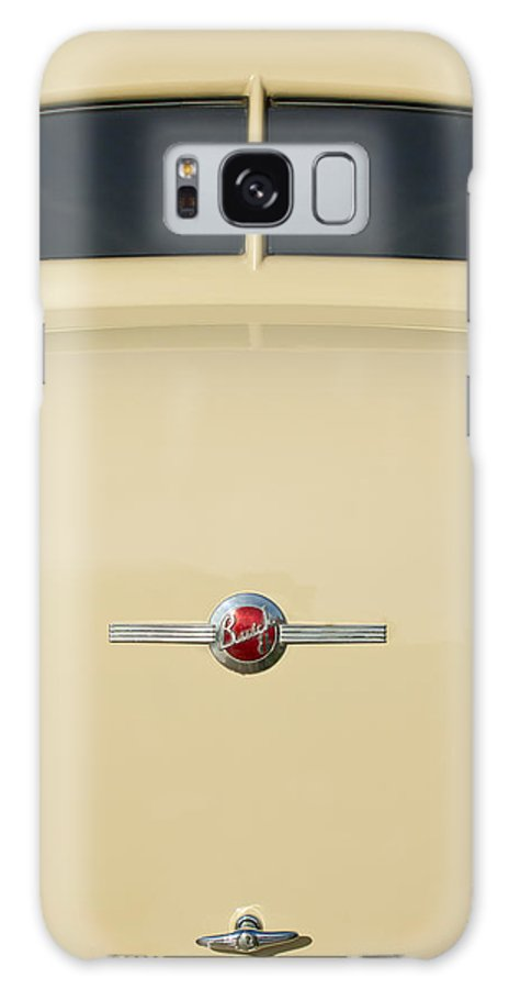 1936 Buick 40 Series Galaxy S8 Case featuring the photograph 1936 Buick 40 Series Rear Emblem by Jill Reger