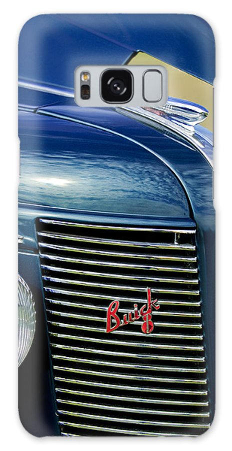 1937 Buick Galaxy S8 Case featuring the photograph 1937 Buick Hood Ornament by Jill Reger