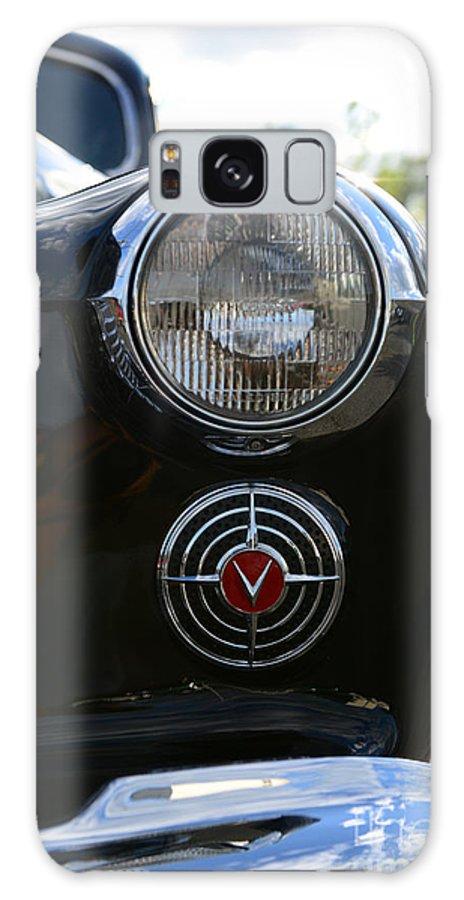 1941 Cadillac Headlight Galaxy S8 Case featuring the photograph 1941 Cadillac Headlight by Paul Ward