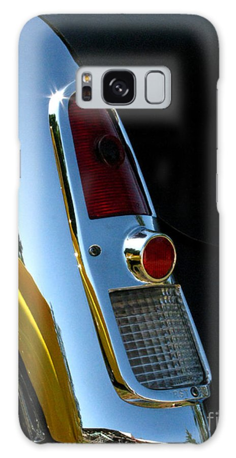 1953 Mercury Monterey Galaxy S8 Case featuring the photograph 1953 Mercury Monterey Taillight by Peter Piatt