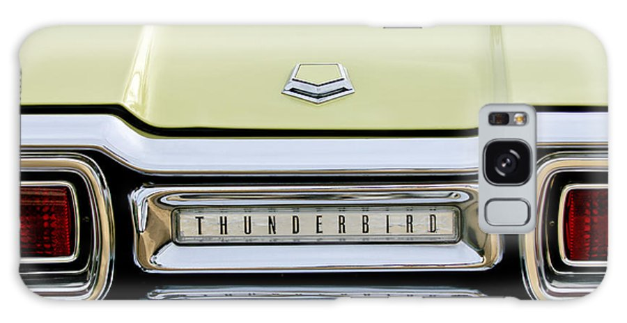 1954 Ford Thunderbird Galaxy S8 Case featuring the photograph 1954 Ford Thunderbird Taillight Emblem by Jill Reger