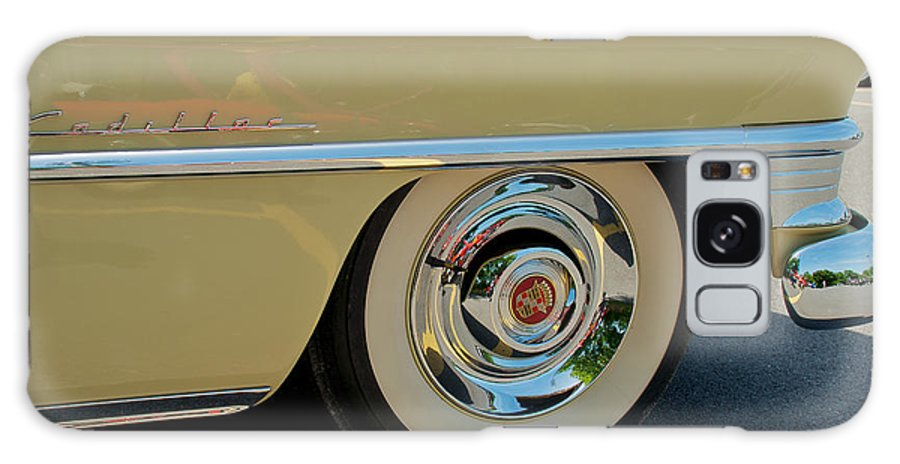 1955 Cadillac Coupe 2 Door Hardtop Galaxy S8 Case featuring the photograph 1955 Cadillac 2 by Mark Dodd