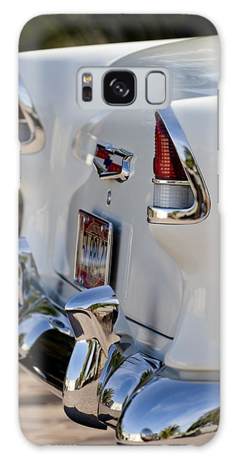 1955 Chevrolet 210 Galaxy S8 Case featuring the photograph 1955 Chevrolet 210 Taillights by Jill Reger