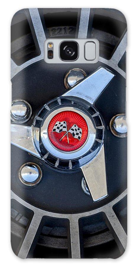1955 Chevrolet Truck Galaxy S8 Case featuring the photograph 1955 Chevrolet Truck Wheel Rim by Jill Reger