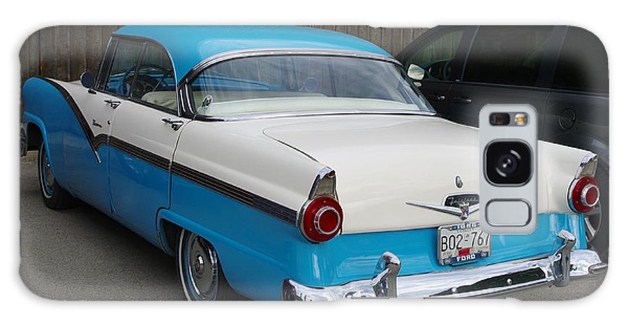 1956 Ford Fairlane Galaxy S8 Case featuring the photograph 1956 Ford Fairlane by John Greaves