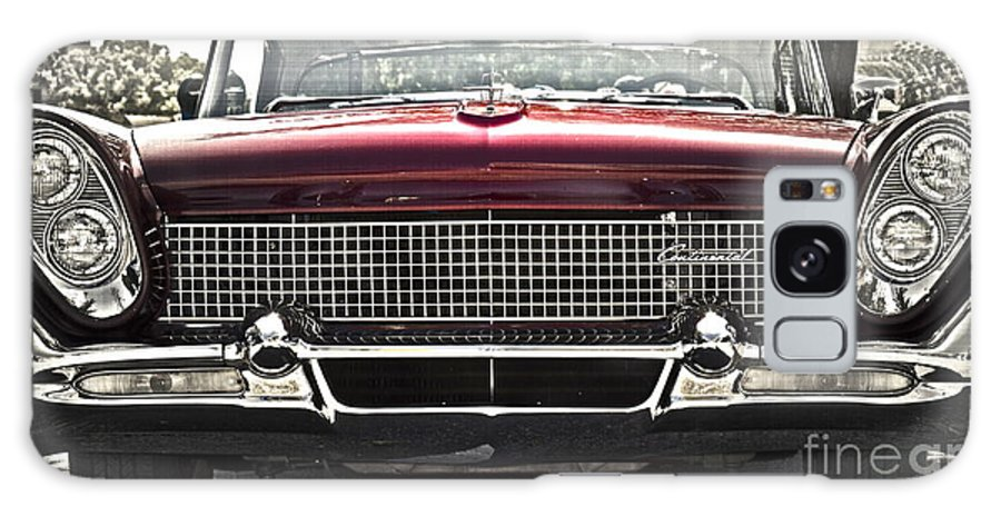 Lincoln Continental Galaxy S8 Case featuring the photograph 1958 Lincoln Continental by Gwyn Newcombe