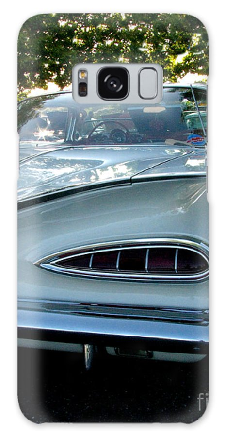 1959 Cheverolet Impala Galaxy S8 Case featuring the photograph 1959 Chevrolet Impala Taillight by Peter Piatt
