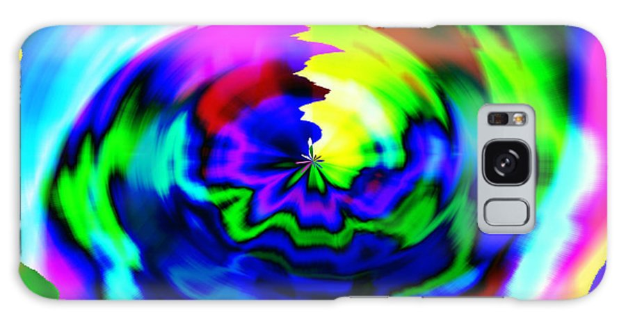 Tie Dye Galaxy S8 Case featuring the digital art 1962 by Linda Seacord