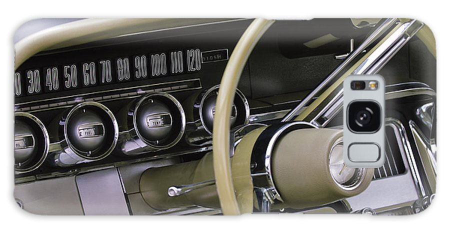 1964 Ford Thunderbird Galaxy S8 Case featuring the photograph 1964 Ford Thunderbird Steering Wheel by Jill Reger