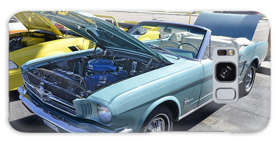 1965 Mustang Convertible Galaxy S8 Case featuring the photograph 1965 Mustang Convertible by Paul Mashburn
