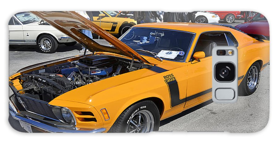 Boss 302 Galaxy S8 Case featuring the photograph 1970 Boss Mustang by Paul Mashburn