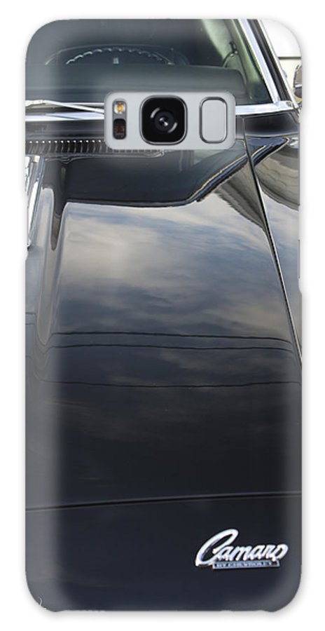 Hood Scoop Galaxy S8 Case featuring the photograph 1970s Chevrolet Camaro by Robin Lewis