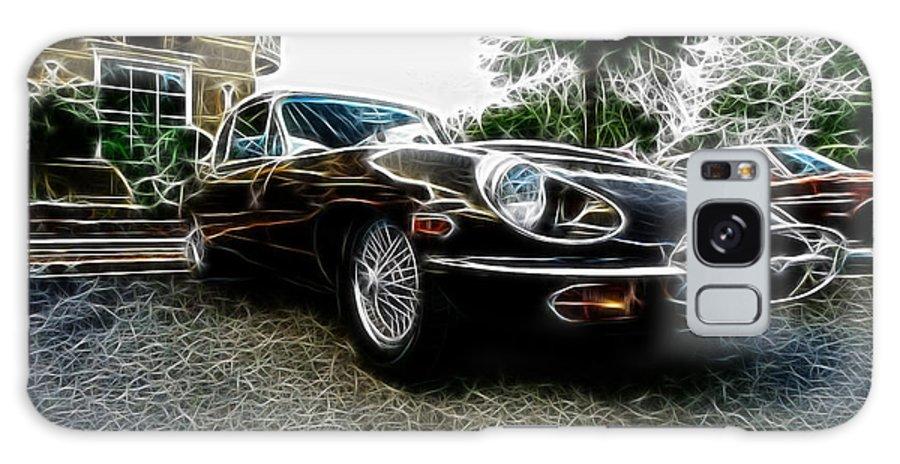 1973 Jaguar E Type 4.2 Galaxy S8 Case featuring the photograph 1973 Jaguar Type E Fantasy by Paul Ward