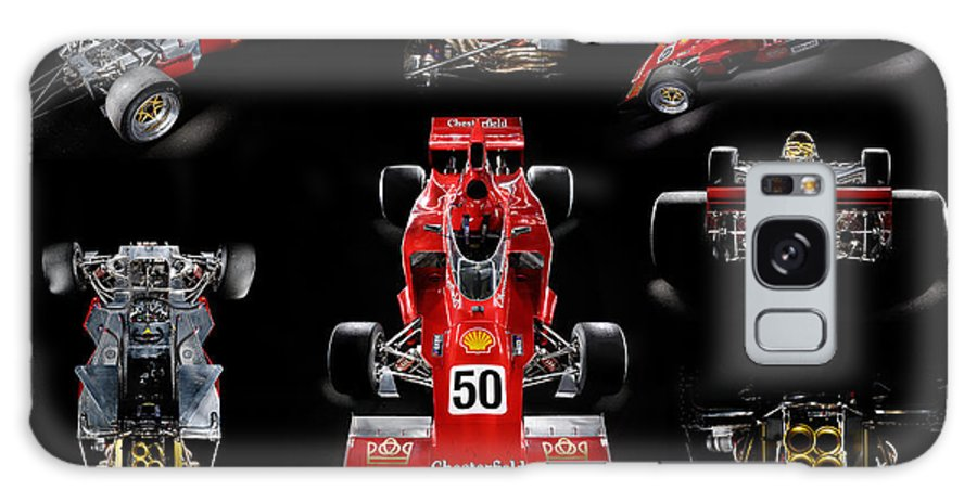 1974 Galaxy S8 Case featuring the photograph 1974 Lola T332 F5000 Race Car V8 5 Litre by Frank Kletschkus