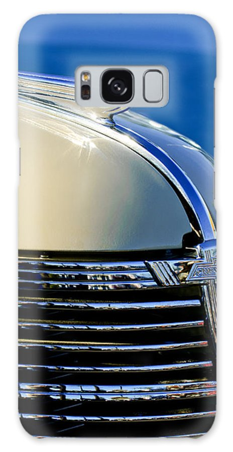 1933 Chevrolet Galaxy S8 Case featuring the photograph 1933 Chevrolet Hood Ornament by Jill Reger