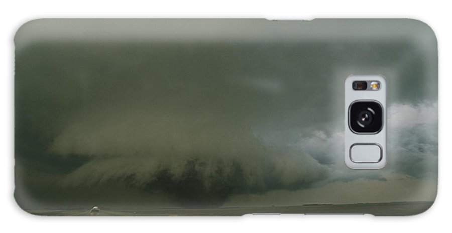 North America Galaxy S8 Case featuring the photograph A Massive F4 Category Tornado Rampages by Carsten Peter