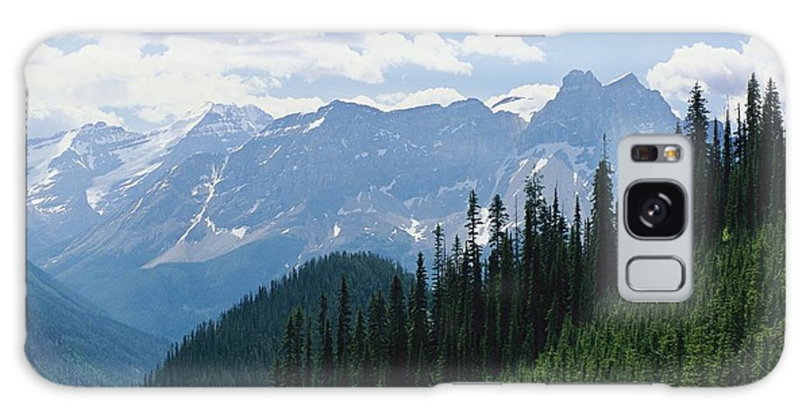 North America Galaxy S8 Case featuring the photograph A Scenic View Of The Rocky Mountains by Michael Melford