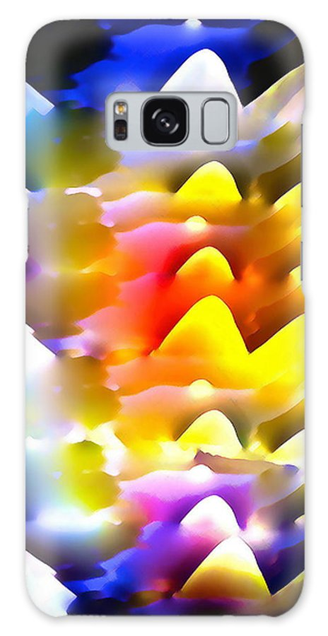 Abstract Galaxy S8 Case featuring the photograph Abstract 61 by Pamela Cooper