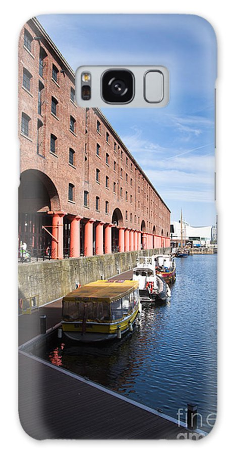 2011 Galaxy S8 Case featuring the photograph Albert Dock by Andrew Michael