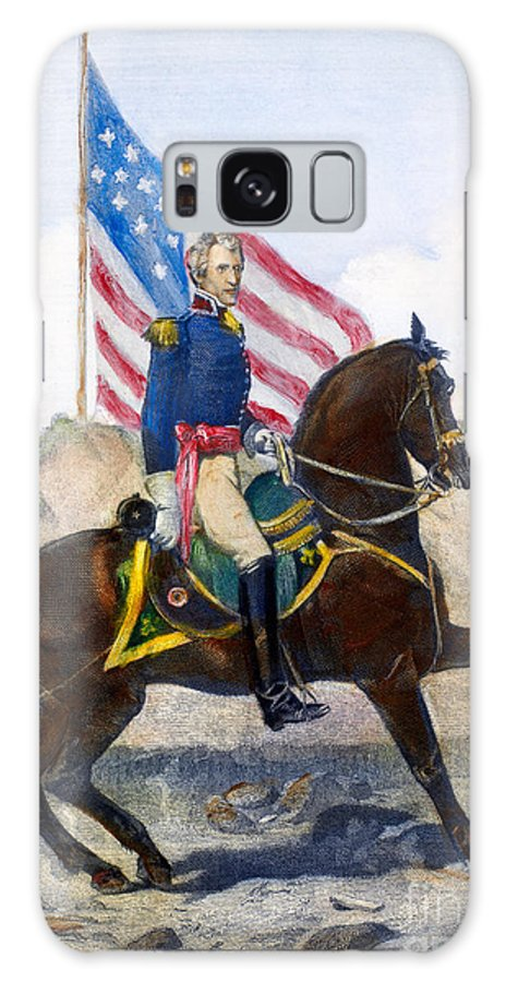 1815 Galaxy S8 Case featuring the photograph Andrew Jackson (1767-1845) by Granger