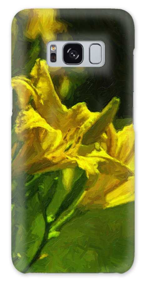 Flowers Galaxy S8 Case featuring the photograph Daylilies by Brian Wright