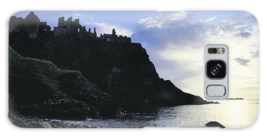 Antrim Galaxy S8 Case featuring the photograph Dunluce Castle, Co Antrim, Ireland by The Irish Image Collection
