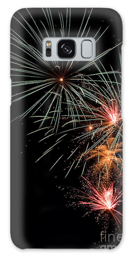 Fireworks Galaxy S8 Case featuring the photograph Fireworks by Cindy Singleton