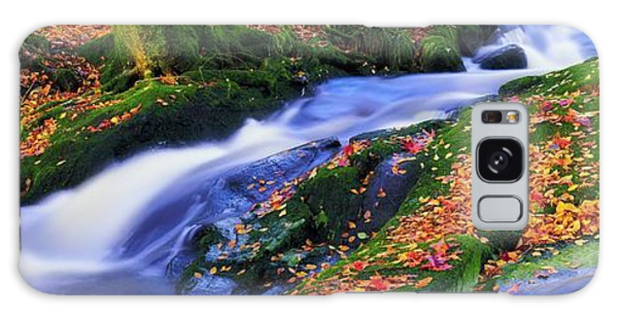Autumn Galaxy S8 Case featuring the photograph Glenmacnass Waterfall, Co Wicklow by The Irish Image Collection