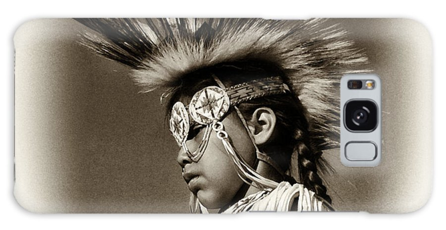 Aboriginal Galaxy S8 Case featuring the photograph Grass Dancer by Robert Knight