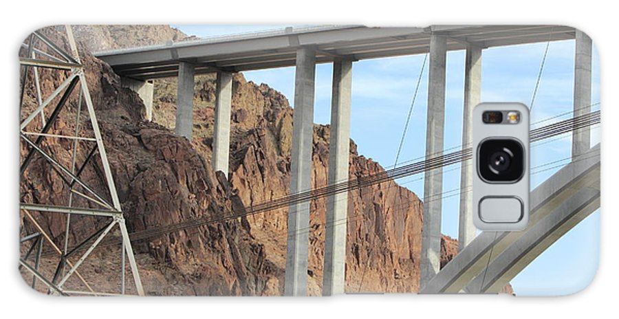Bridge Galaxy S8 Case featuring the photograph Hoover Dam by Gord Patterson