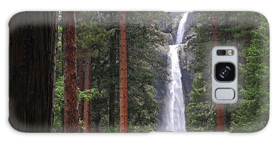 Yosemite Galaxy S8 Case featuring the photograph Lower Yosemite Falls by Lynn Bauer