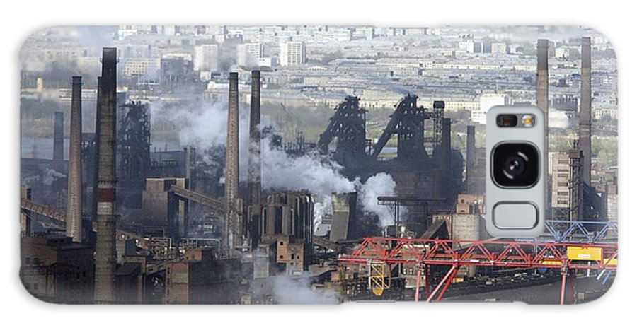 Metal Working Plant Galaxy S8 Case featuring the photograph Magnitogorsk Iron And Steel Works by Ria Novosti