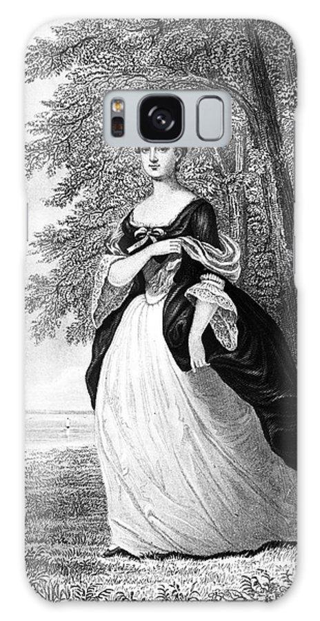 18th Century Galaxy S8 Case featuring the photograph Martha Washington by Granger