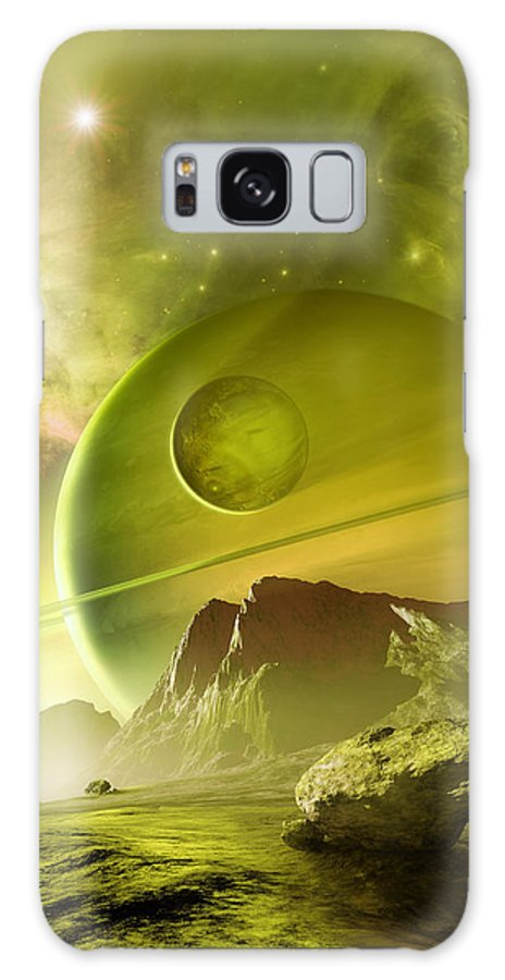 Nebula Galaxy S8 Case featuring the photograph Planets In The Orion Nebula by Detlev Van Ravenswaay