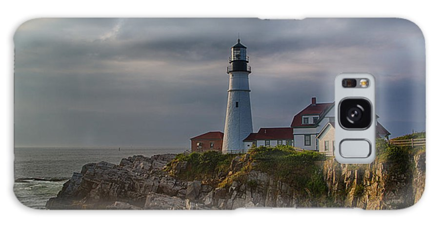 Portland Head Light Galaxy S8 Case featuring the photograph Portland Head Light by David DesRochers