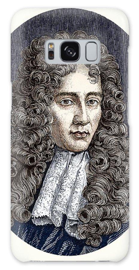 Robert Boyle Galaxy S8 Case featuring the photograph Robert Boyle, Irish Chemist by Sheila Terry