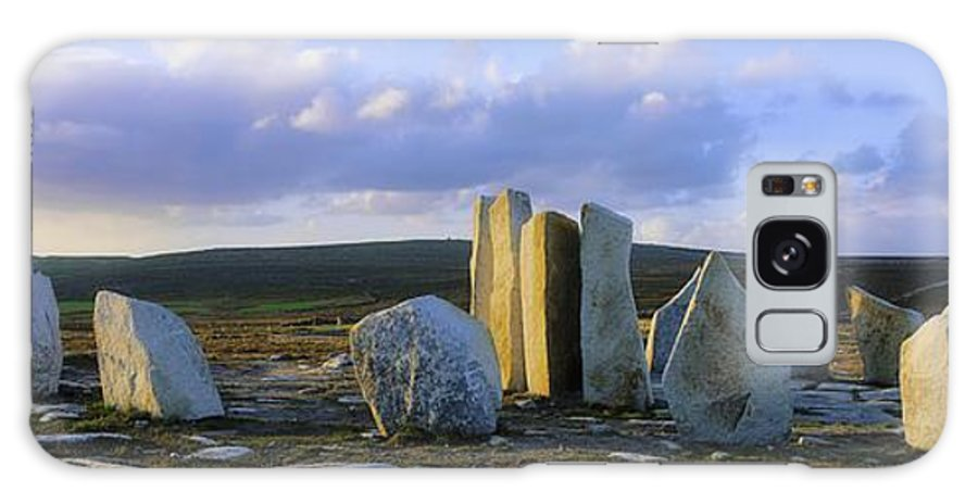 Blacksod Galaxy S8 Case featuring the photograph Standing Stones, Blacksod Point, Co by The Irish Image Collection