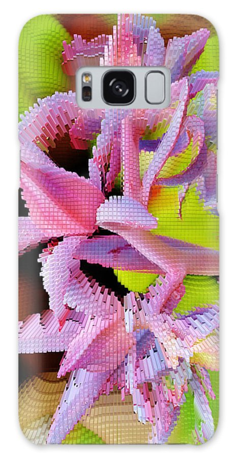 Extrude Galaxy S8 Case featuring the photograph Succulent Blossom by Werner Lehmann