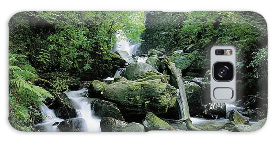 Blurred Motion Galaxy S8 Case featuring the photograph Torc Waterfall, Killarney, Co Kerry by The Irish Image Collection