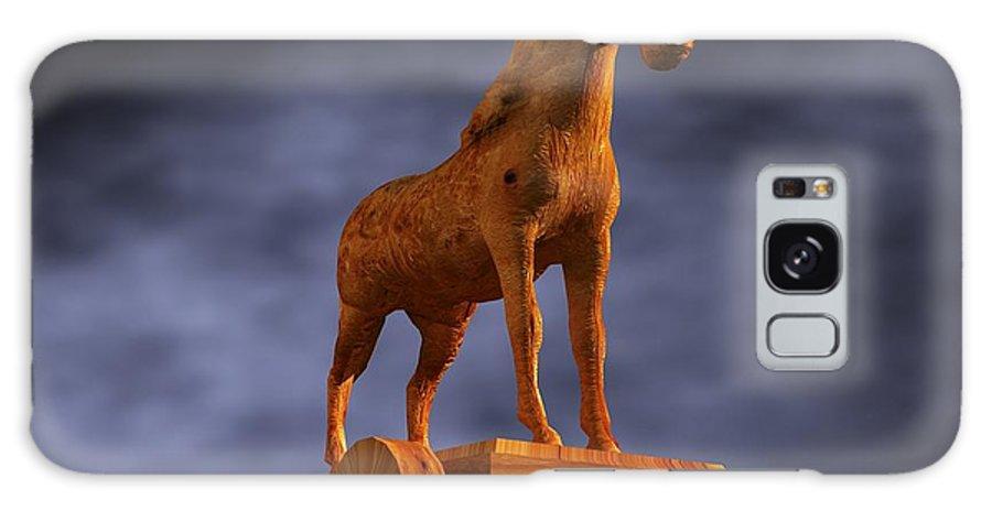 Trojan Horse Galaxy S8 Case featuring the photograph Trojan Horse, Computer Artwork by Christian Darkin
