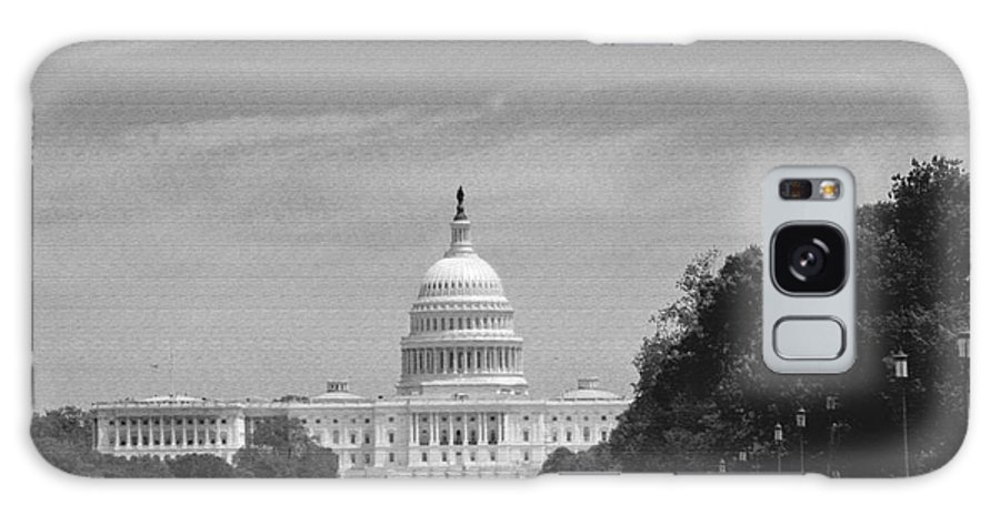 Us Capitol Galaxy S8 Case featuring the photograph Us Capitol by Pravine Chester