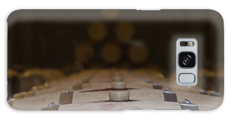 Wine Barrel Galaxy S8 Case featuring the photograph Wine Barrels by Mats Silvan