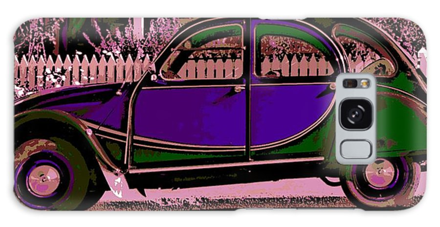 Citroen Galaxy S8 Case featuring the photograph 2CV by George Pedro