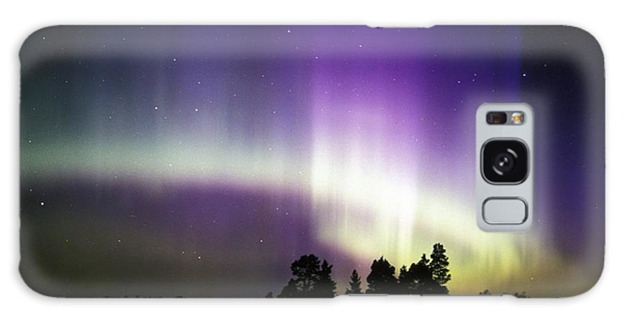 Nature Galaxy S8 Case featuring the photograph Aurora Borealis by Pekka Parviainen