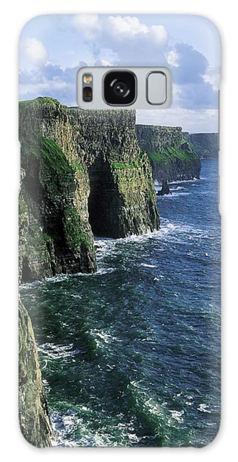 Clare Galaxy S8 Case featuring the photograph Cliffs Of Moher, Co Clare, Ireland by The Irish Image Collection