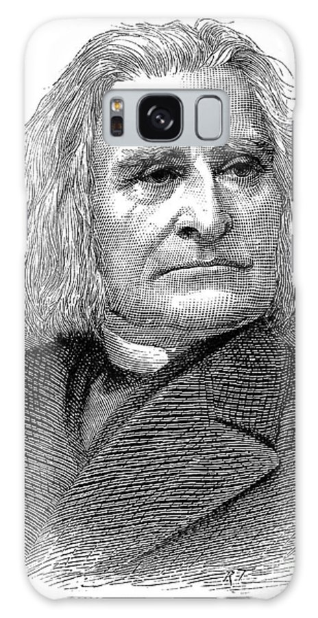 1886 Galaxy S8 Case featuring the photograph Franz Liszt (1811-1886) by Granger